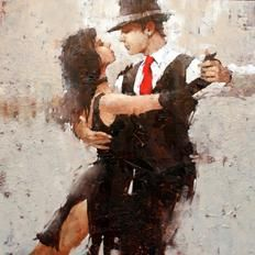 "Andre Kohn's ""Another Case of It Takes Two"" is my favorite piece of art I have ever seen in my life. One day, I will own a print, if not the original. Mark. My. Words!   #beautiful #imserious #art"