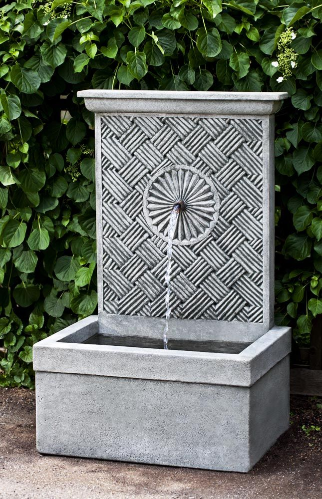 find this pin and more on wall fountains by