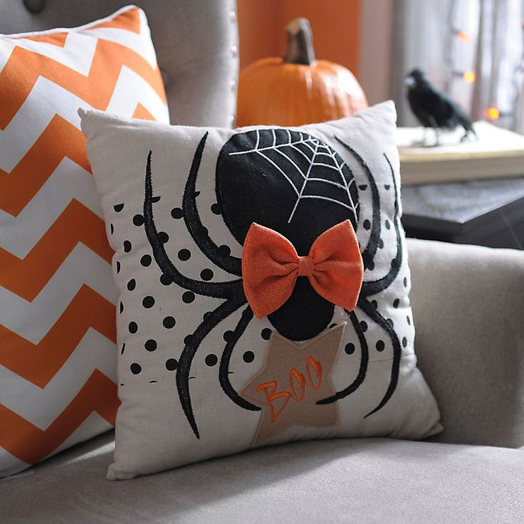 Halloween Spider Pillow | Kirklands