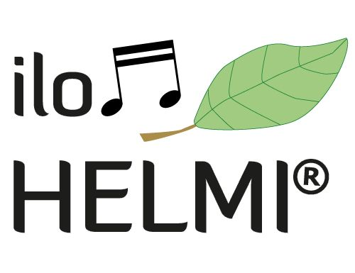 Client work in Web Design education. Logo design for ilonHELMI