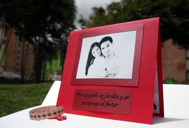 tati and rafa wedding card
