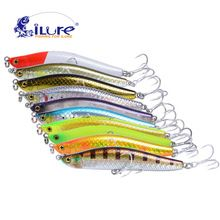iLure pencil Sea curls bait Spanish mackerel 25g 105mm vmc hook minnow bass fishing tackle artificial bait fishing tackle pesca