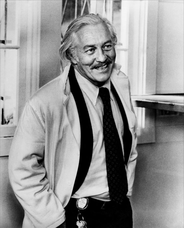 Strother Martin - American character actor who often appeared in support of superstars John Wayne and Paul Newman and was memorable in Western films directed by John Ford and Sam Peckinpah.He died on Aug 1, 1980 from a heart attack at the age of 61