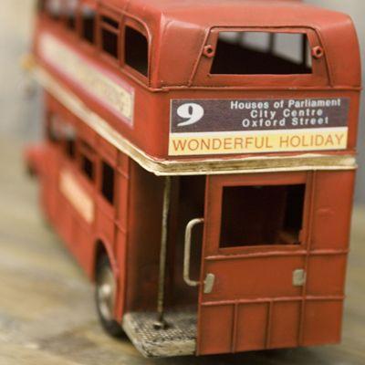 ブリキのおもちゃ ロンドンバス - 暮らしに寄り添うレトロ雑貨の店   ViaLattea