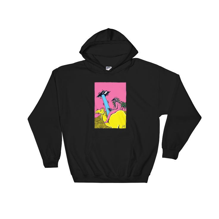"New! ""Floppy Disc Camel"" Hoodie by Fiedler"