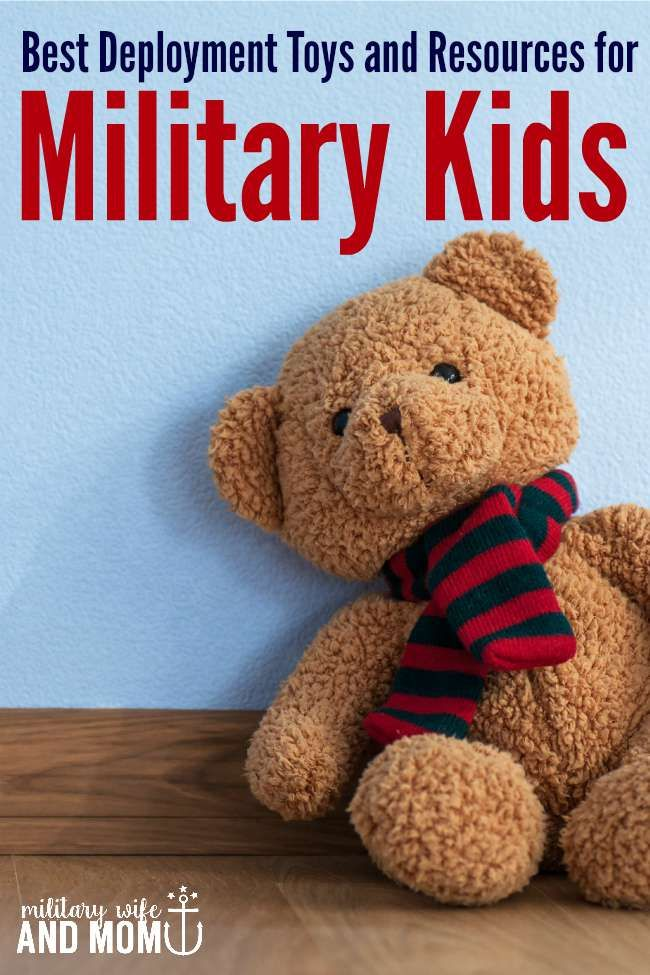 Really great toys to help parent military kids during deployment!