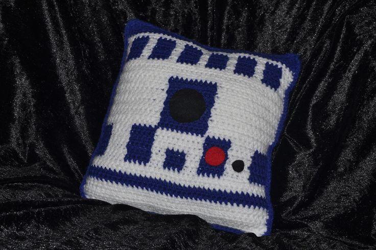 Handmade R2D2 inspired Pillow