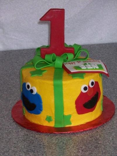 Sesame Street By mom262 on CakeCentral.com: Sesame Street
