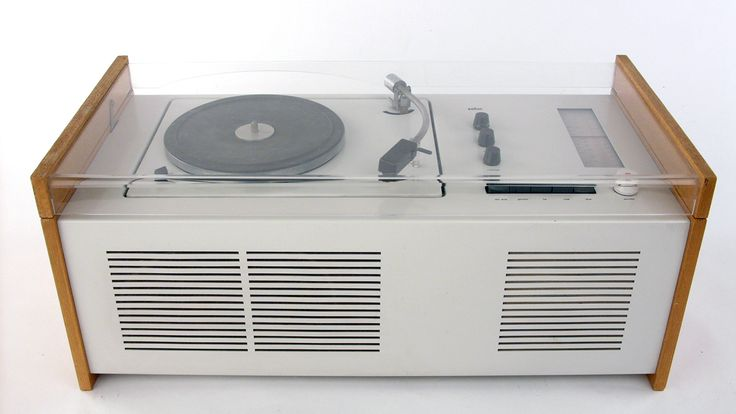 SK4 record player, 1956, by Dieter Rams and Hans Gugelot for Braun