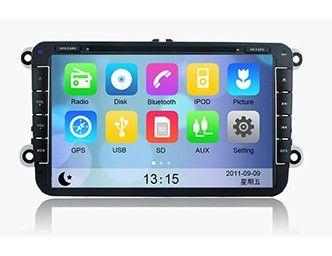 "8"" Autoradio DVD GPS Volkswagen Passat/Seat avec Bluetooth et GPS"
