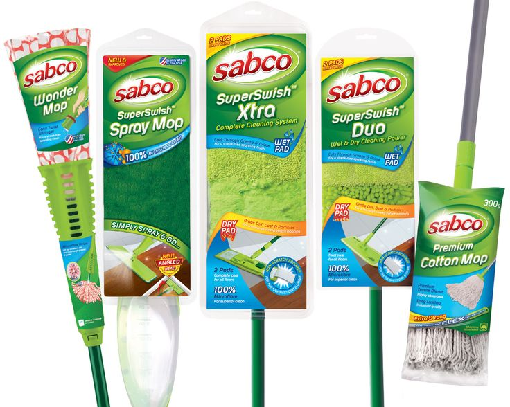 Sabco's best mops selection.