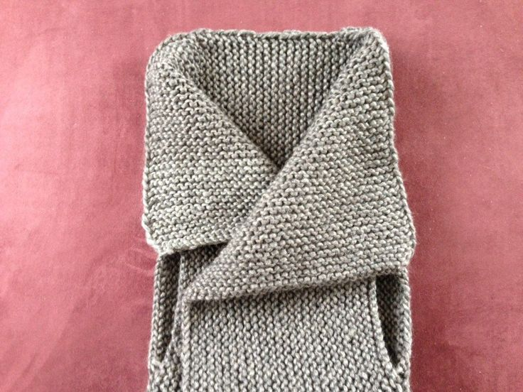 Crafting: eine moderne Weste stricken