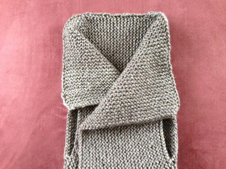 Crafting: eine moderne Weste stricken