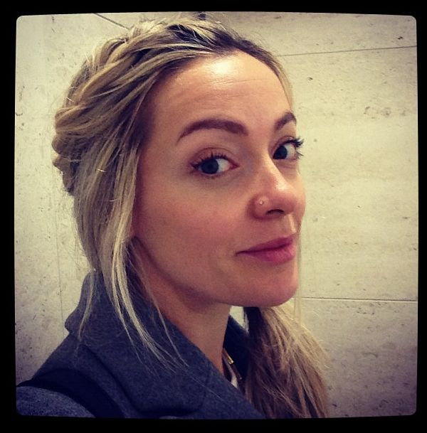"Cherry Healey, the ""Let's talk about your bum"" toilet paper lady. So British and cute!"
