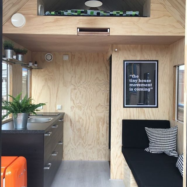 Single Tiny House interior #millhome #tinyhouse #tinyhousemovement #living #inspiration #house #tinyhousemovement #selfsustaining #interior #myhouse #ecofriendly