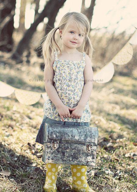 outdoor children's photography fargo