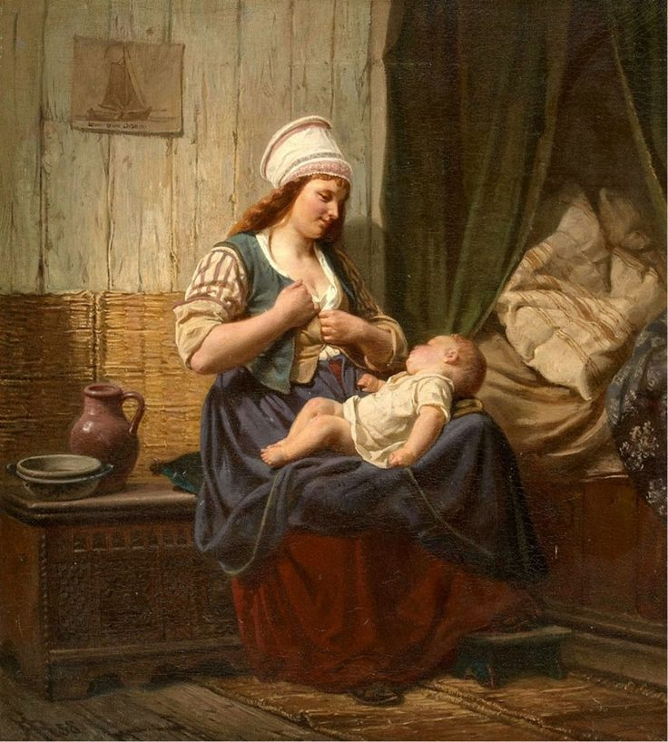 Rudolf Jordan - Mother And Child