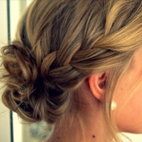 Plait Updo Hairstyles