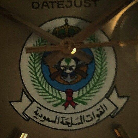 Rolex saudi military crest