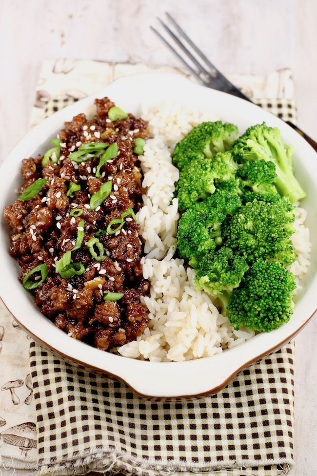 Easy Korean Ground Beef And Broccoli Is A Delicious Meal That Comes Together In About 30 Minutes Dinner With Ground Beef Ground Beef And Broccoli Broccoli Beef