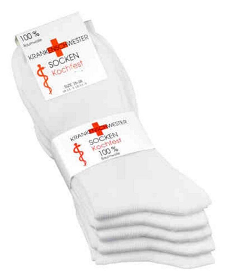 Schwestern Socken 5er Pack 100% Baumwolle Kochfest !
