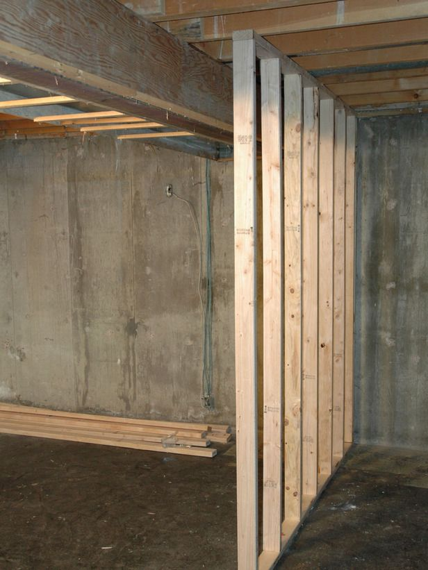 how to install a floating wall to seperate a large space.