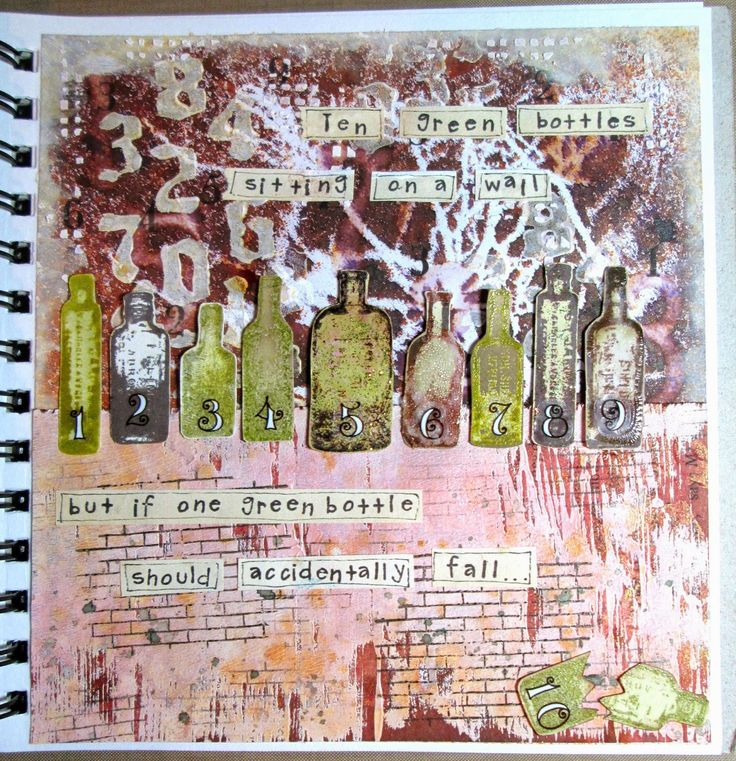 Crafty Effusions: Numbers up ! Journal 52 - sing a song
