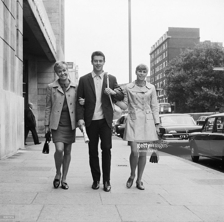 British Olympic athletes (from left) Lillian Board (1948 - 1970), Lynn Davies and Mary Rand. Board won a silver medal in the 400m metres at the 1968 Olympics only to die of cancer two years later.