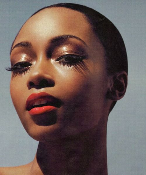 Yaya DaCosta. Photo by Karen Collins for InStyle Magazine.