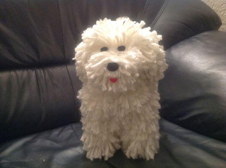Kreakipje: Papier Maché hond