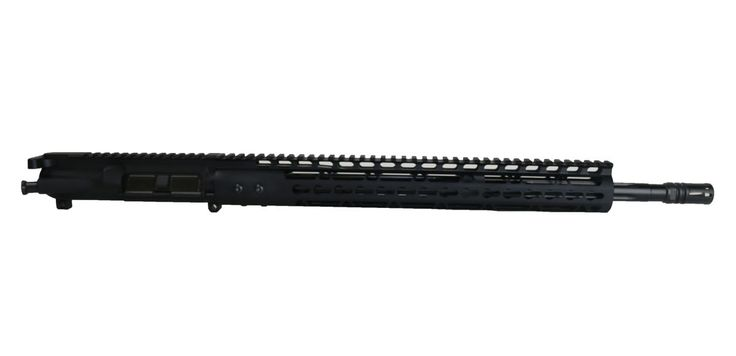 "BCA Branded 18"" 6.5 Grendel Type II Black Melonite Straight Flutes AR-15 Complete Upper Assembly"