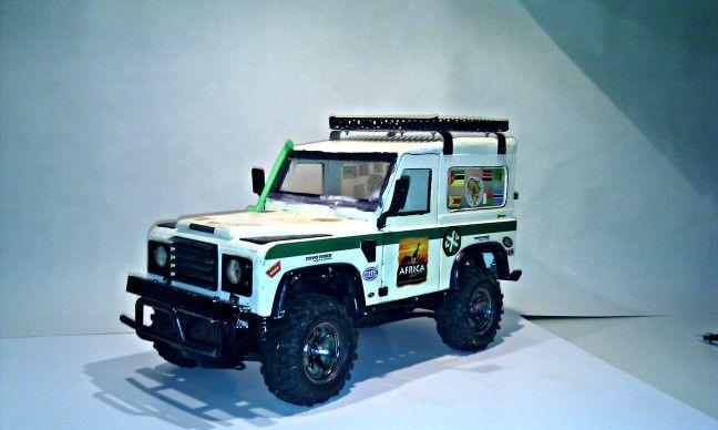 Tamiya Cc01 Land Rover Defender Scale Rc Fun Radio