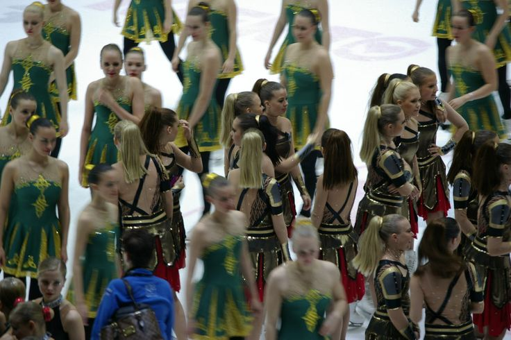 Synchronized Skating Finnish Championship 2014