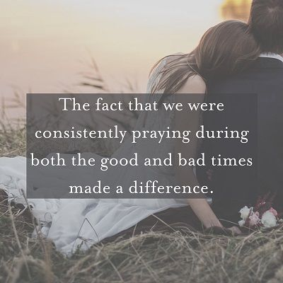 """On our wedding night, Nancy and I knelt by the side of the bed in our bridal suite and prayed. We didn't know it then, but that night we began to lay a foundation of regular prayer together that has made an indescribable difference in our marriage. Prayer together has literally been the glue that<a href=""""http://www.faithgateway.com/putting-god-first-marriage-prayer/"""" title=""""Read more"""" >...</a>"""