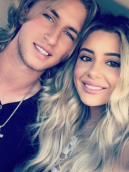 Brielle Biermann Flaunts Romance with Baseball Player Boyfriend Michael
