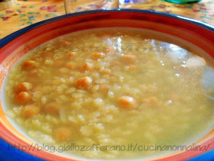 Zuppa di ceci e patate,ricetta invernale