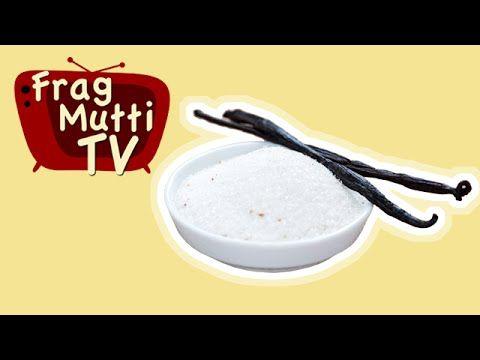 Vanillezucker selber machen - homemade vanilla sugar - Frag Mutti TV