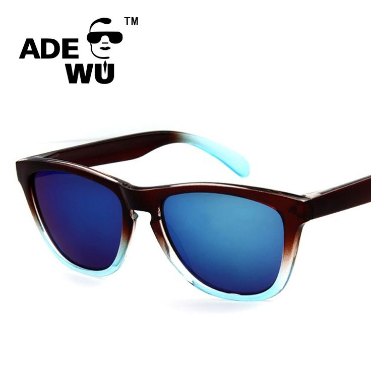 ADE WU 2016 Sunglasses Fashion Women Men Brand Designer Male Frogskins Sun Glasses For UV400 Sports gafas de sol mujer de marca #clothing,#shoes,#jewelry,#women,#men,#hats,#watches,#belts,#fashion,#style