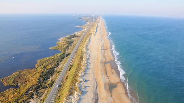 Fill 'er up, drop the top & see the best road trip destinations. #TCSpringFlingBanks Highway, Travel Channel, Cape Hatteras, Outer Banks, Road Trips, Roads Trips, Icons Drive, Highway 12, North Carolina