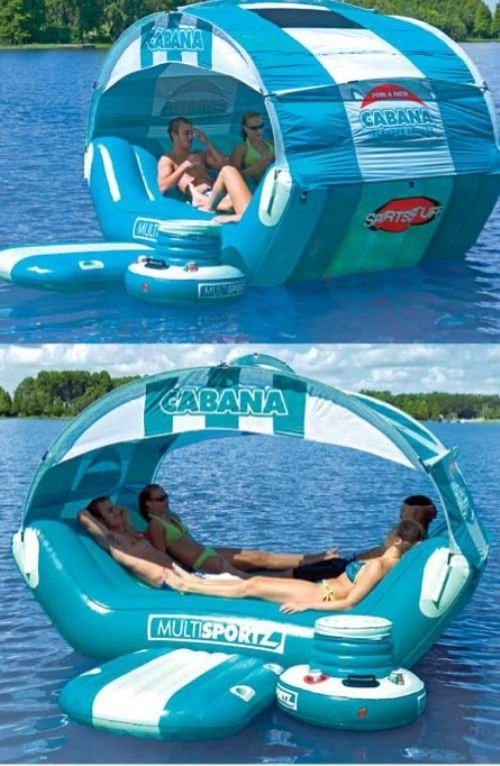 How fun is this?? I could spend a lot of time in one of these!
