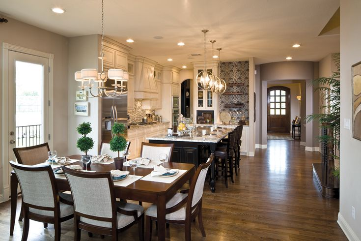 Toll Brothers - Glenwyck Kitchen and Breakfast Area #LGLimitless Design # Contest