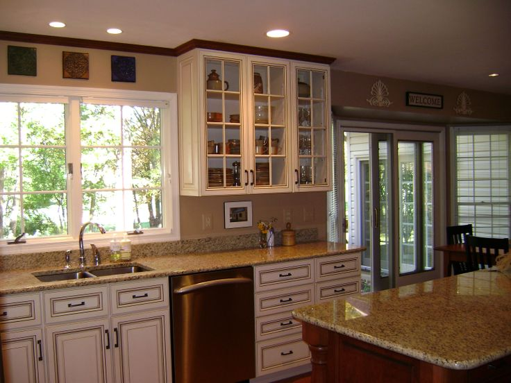 Kitchen Cabinets In Off White