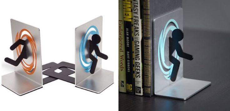 Portal Buchstützen - in eine andere Welt schlüpfen