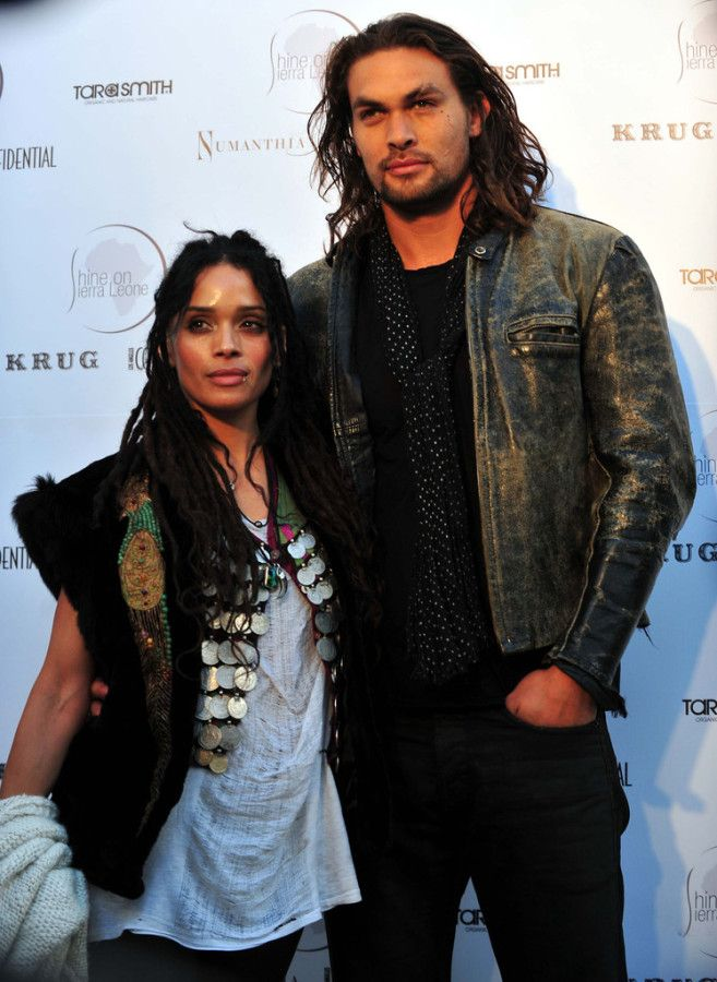 Jason Momoa and Lisa Bonet - Khal Drogo's wife! #GOT