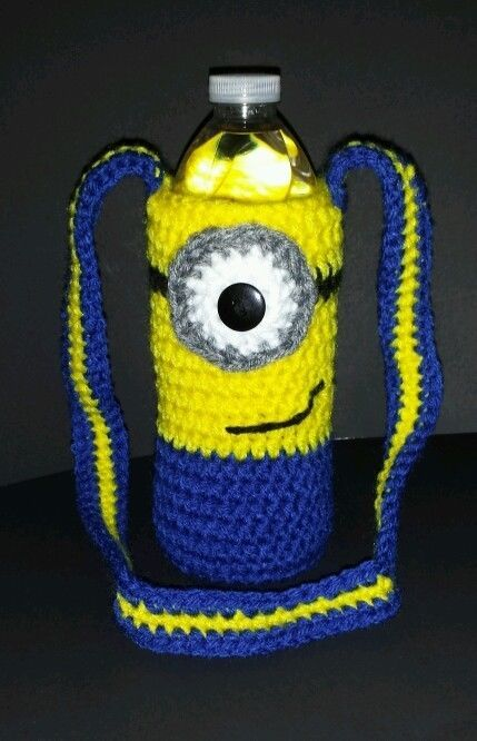 New Water Bottle Tote Soda Wine Beer Beverage Carrier Hand Crochet Bag NWOT ( Made to order so if you are interested in purchasing one or more please message me here on Pinterest ). Thank you!
