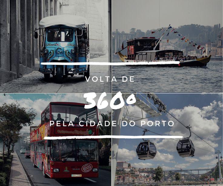 Descubra a cidade do Porto numa viagem 360º em: Tuk Tuk, Barco Rabelo, City Sightseeing e Teleférico! Faça já a sua reserva :)