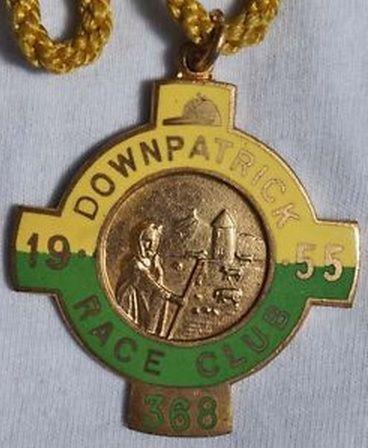 Annual badge - Downpatrick 1955