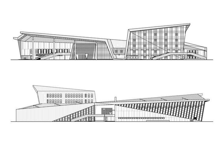 Gallery of ZHOUSHI Culture & Sports Center / UDG YangZheng Studio - 29