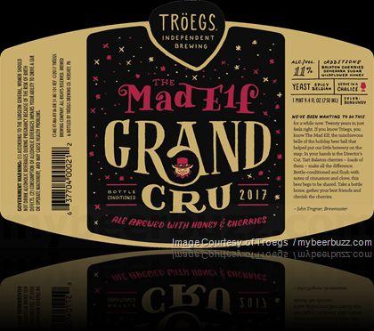 mybeerbuzz.com - Bringing Good Beers & Good People Together...: Troegs Adding The Mad Elf Grand Cru 2017