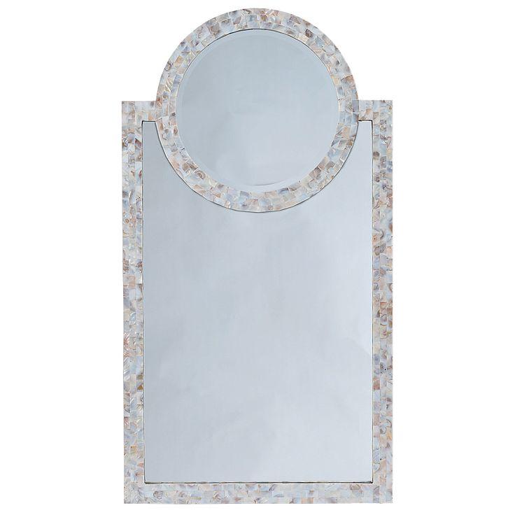 Perfect Regina Andrew Mother Of Pearl Harbor Mirror @Zinc_Door